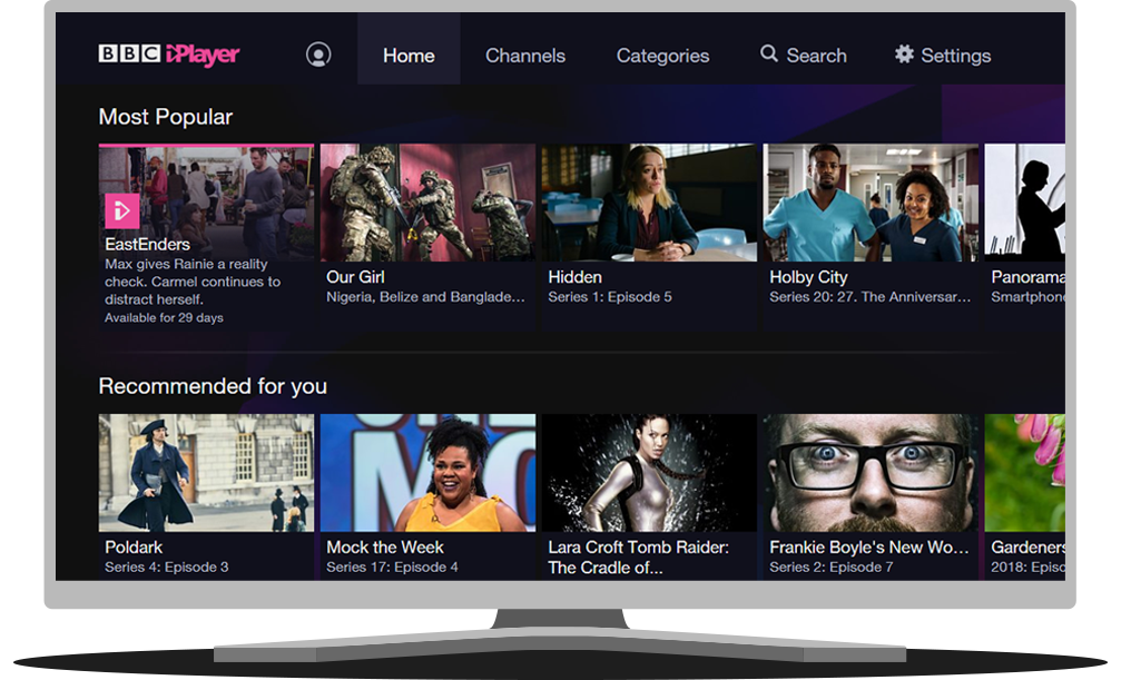 How can I find programmes? | iPlayer help
