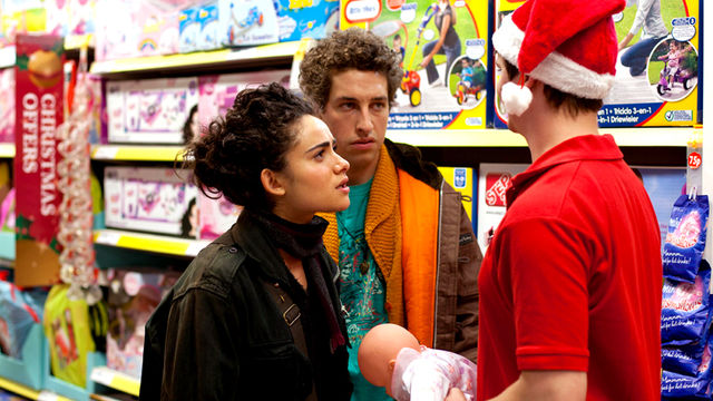 Pramface, Series 1, Knocked up and Homeless