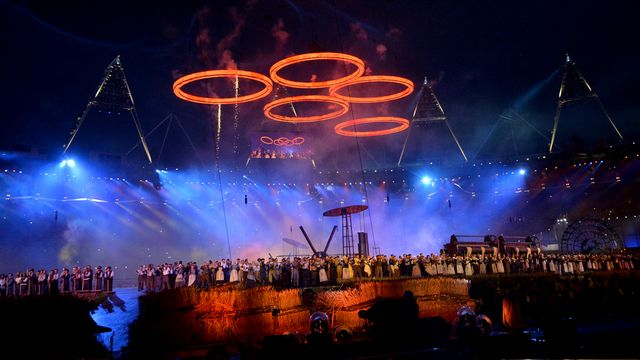 Olympic Ceremonies, London 2012 Online, Opening Ceremony - no comm
