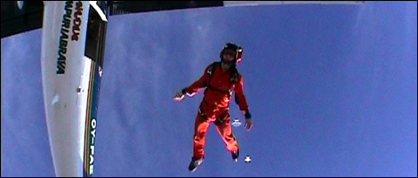 Skydive Freefall (filmed by James Boole)