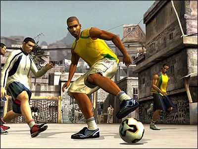 Image result for fifa street 2005 screenshot