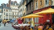 Place des Lices, Rennes, Bretagne. Photo by Delphine Désard