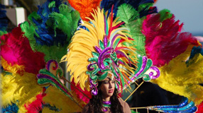 Facts about the Portuguese language. Carnival Headdress © Yannik LABBE, fotolia.com