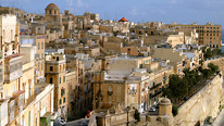 General skyline view across Valletta, Malta © BBC