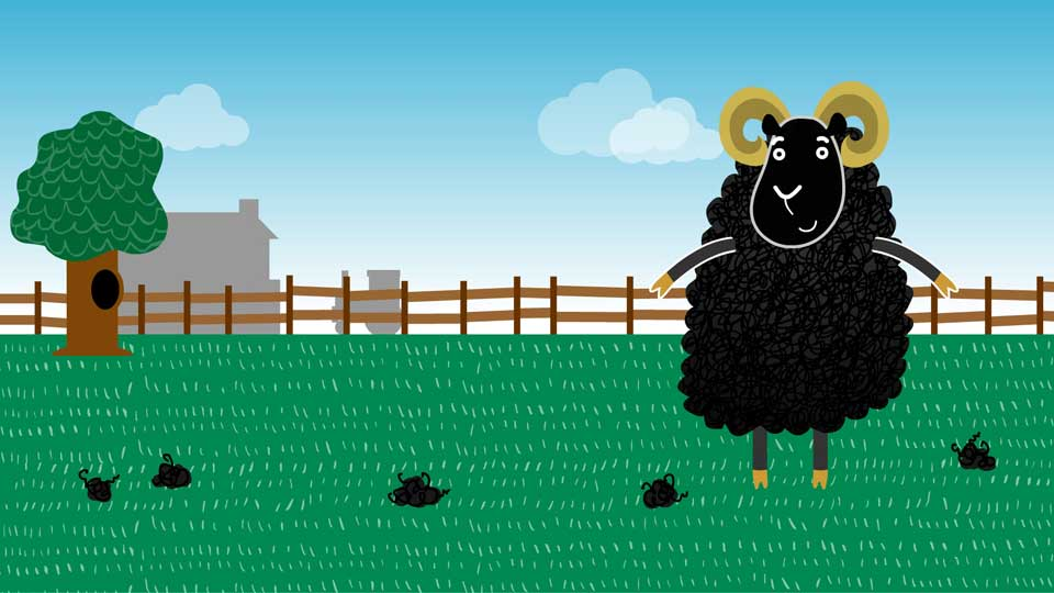 BBC School Radio: Nursery rhymes and songs - Baa, baa, black sheep