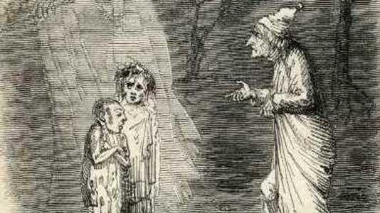 A Christmas Carol. 6: Scrooge's nephew