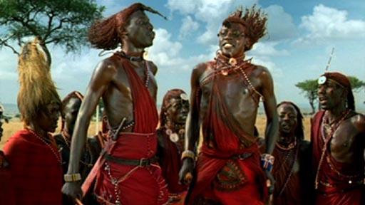 African Tribe Dance Elisa de gala