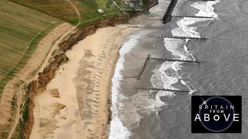 Living with coastal erosion in Happisburgh, East Anglia (pt 2/2)