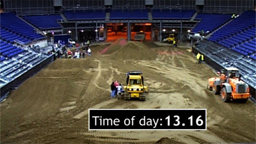 Motocross at the Millennium Dome