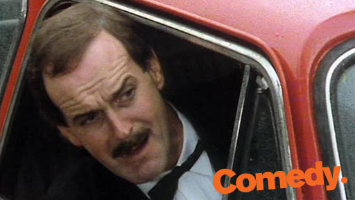 Fawlty Towers – road rage