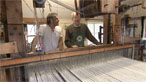 From yarn to hand weaving fabric