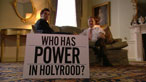Who has power in Holyrood?