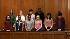 A mock criminal trial at the Old Bailey with teenagers playing the key roles (pt 6/6)
