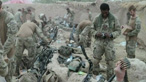 British soldiers on the frontline in Afghanistan