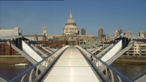 The Millennium Bridge - what caused the wobble?