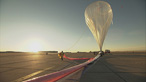 Felix Baumgartner's balloon