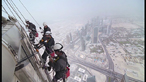 Maintaining the world's tallest building