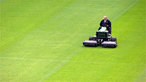 How does a hover lawnmower work?