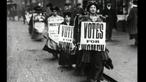 What inspired the Suffragettes?