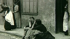 Problem of poverty in early 20th century Britain
