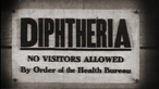 Why didn't diphtheria immunisation begin in Britain until the 1940s?
