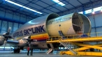Assembling an airbus - transporter planes