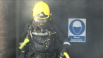 How long will breathing apparatus keep a fire-fighter safe?