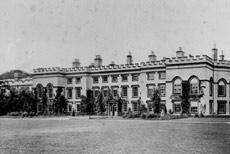 Kirkleatham Hall - garden front
