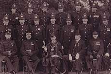 policemen in formal uniform