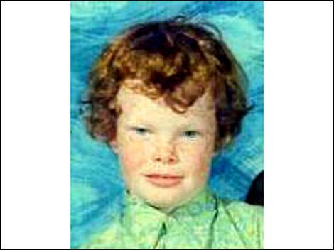 Not only ginger curly hair, but freckles as well. Apparently these days he