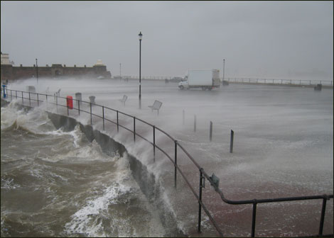 Waves at new brighton sent in by site user phil addyman. e-mail your