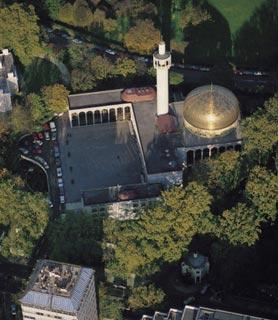 مسجد ريجنت بارك في لندن 127_278x320