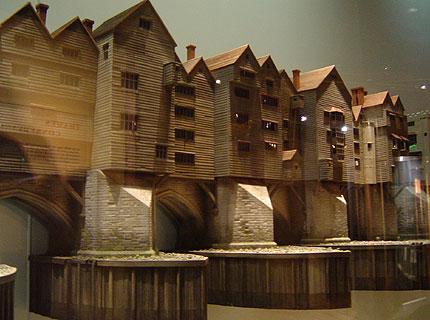 Houses on Old London Bridge