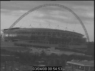 Webcam of the Wembley Stadium London UK