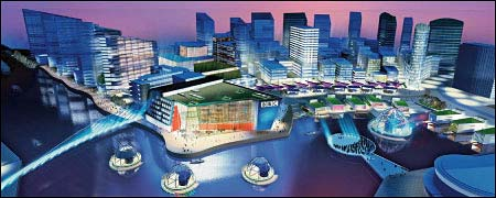 Salford Quays plans