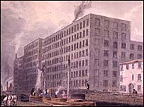 Mill c. 1830 [courtesy of People's History Museum]