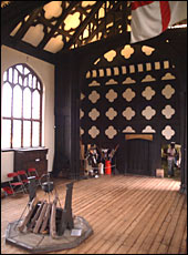 The main hall at Ordsall Hall