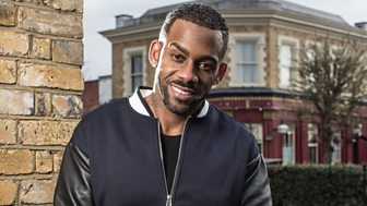 British comedian, EastEnders actor and rapper