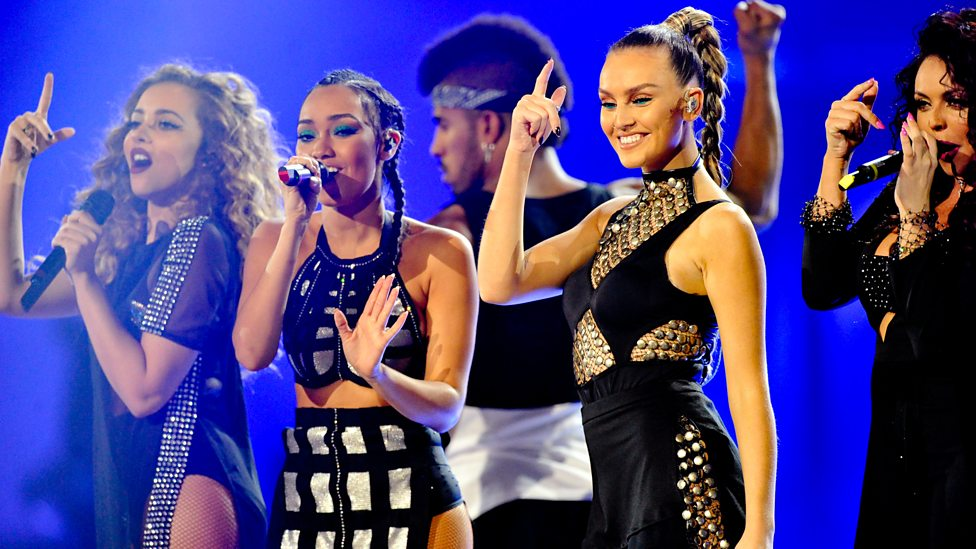Little Mix perform Black Magic at the BBC Music Awards 2015