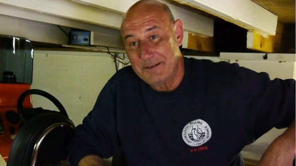 Crass singer Steve Ignorant, who now volunteers as a lifeboatman in Norfolk