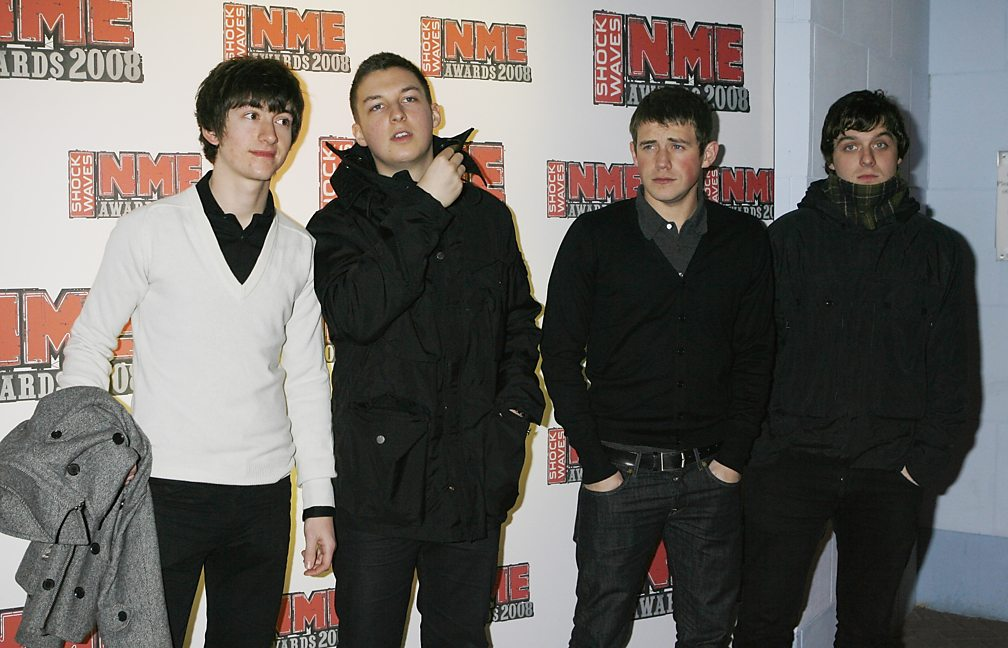 Arctic Monkeys at the 2008 NME Awards