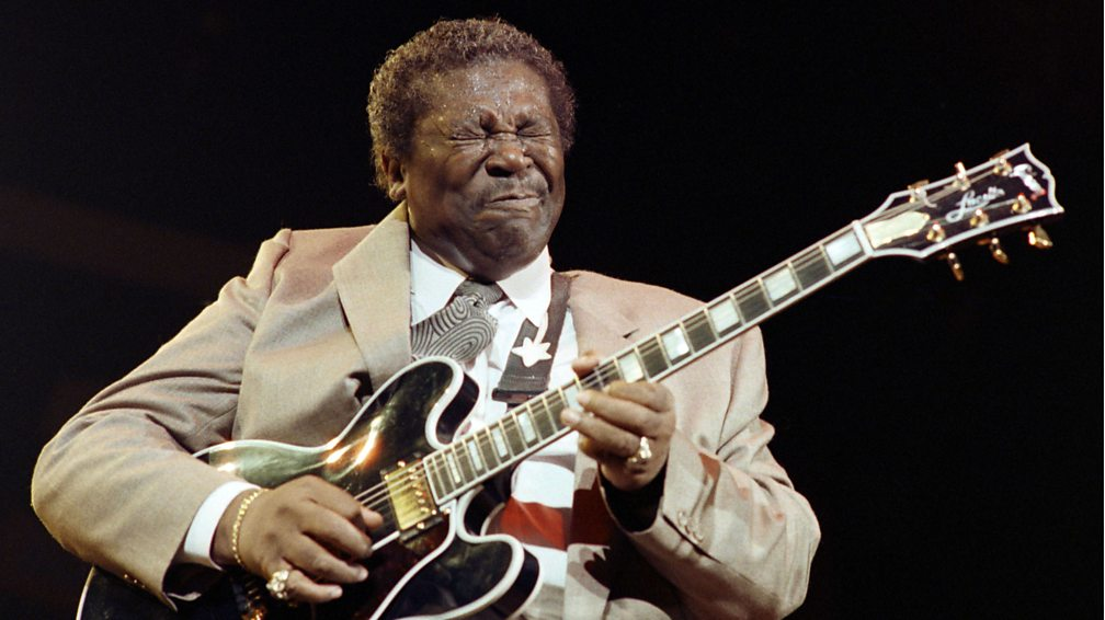 King of the Blues, BB King, died on 14 May, aged 89