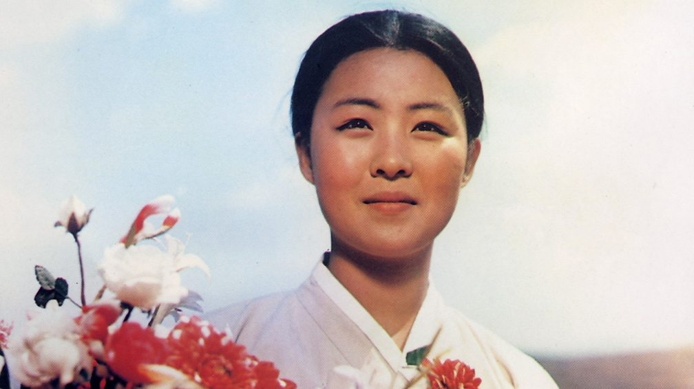 Hong Yong-hee in The Flower Girl
