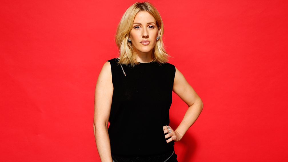 Ellie Goulding at BBC Music Awards 2015