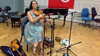 Listen to Nancy Kerr in session for World on 3