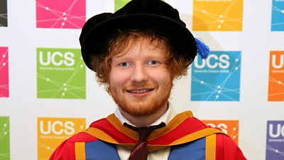 10 surprising places Ed Sheeran has popped up
