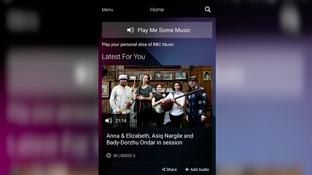 BBC Music just got personal: get to know the new BBC Music app - BBC