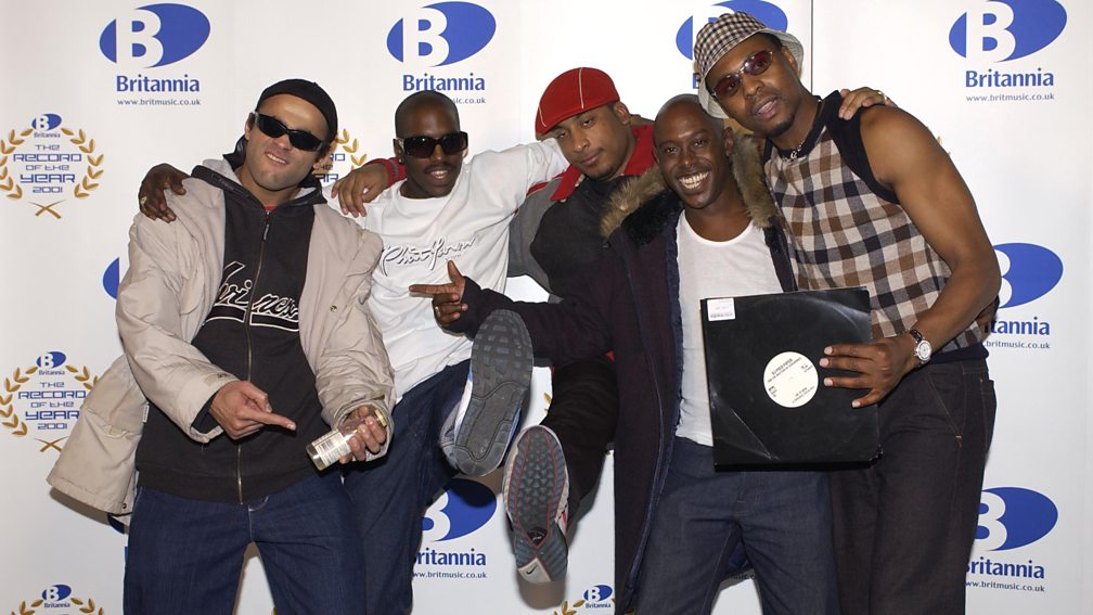 DJ Pied Piper & The Masters of Ceremonies at The Record of the Year award, 2001