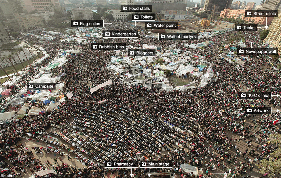 Image result for image of Tahrir square in Cairo