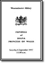 The Funeral Service of Diana, Princess Wales